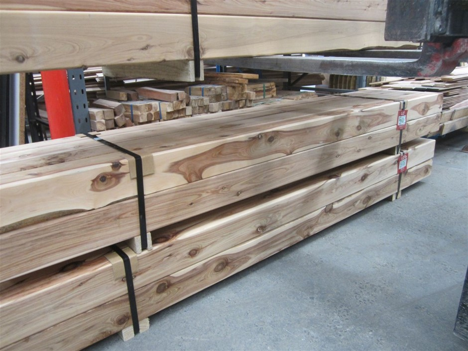 Pack of 8 Cypress Pine 115mm x 115mm Posts.
