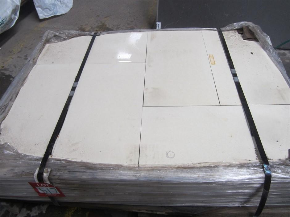 Pallet of 60 Caesarstone Bondi Pavers. 600mm x 300mm x 20mm