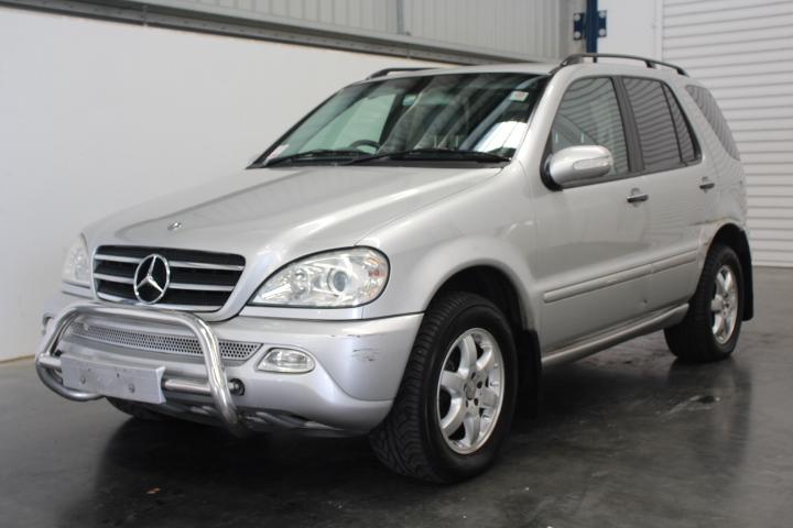 2002 Mercedes Benz ML500 Luxury (4x4) V8 Automatic Wagon