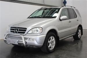 2002 Mercedes Benz ML500 Luxury (4x4) V8