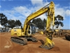 Sumitomo SH120-3 Steel Tracked Excavator with Bucket