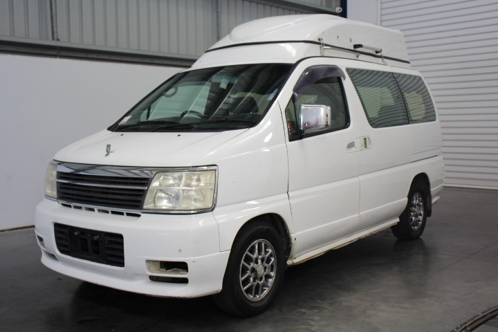 2000 (2010) Nissan Elgrande Auto 4 Berth Roof Pop Camper Van