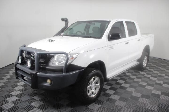 2010 Toyota Hilux SR (4x4) KUN26R Turbo Diesel Dual Cab 160,314km