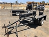 2011 Dingo Heavy Duty Single Axle Plant Trailer