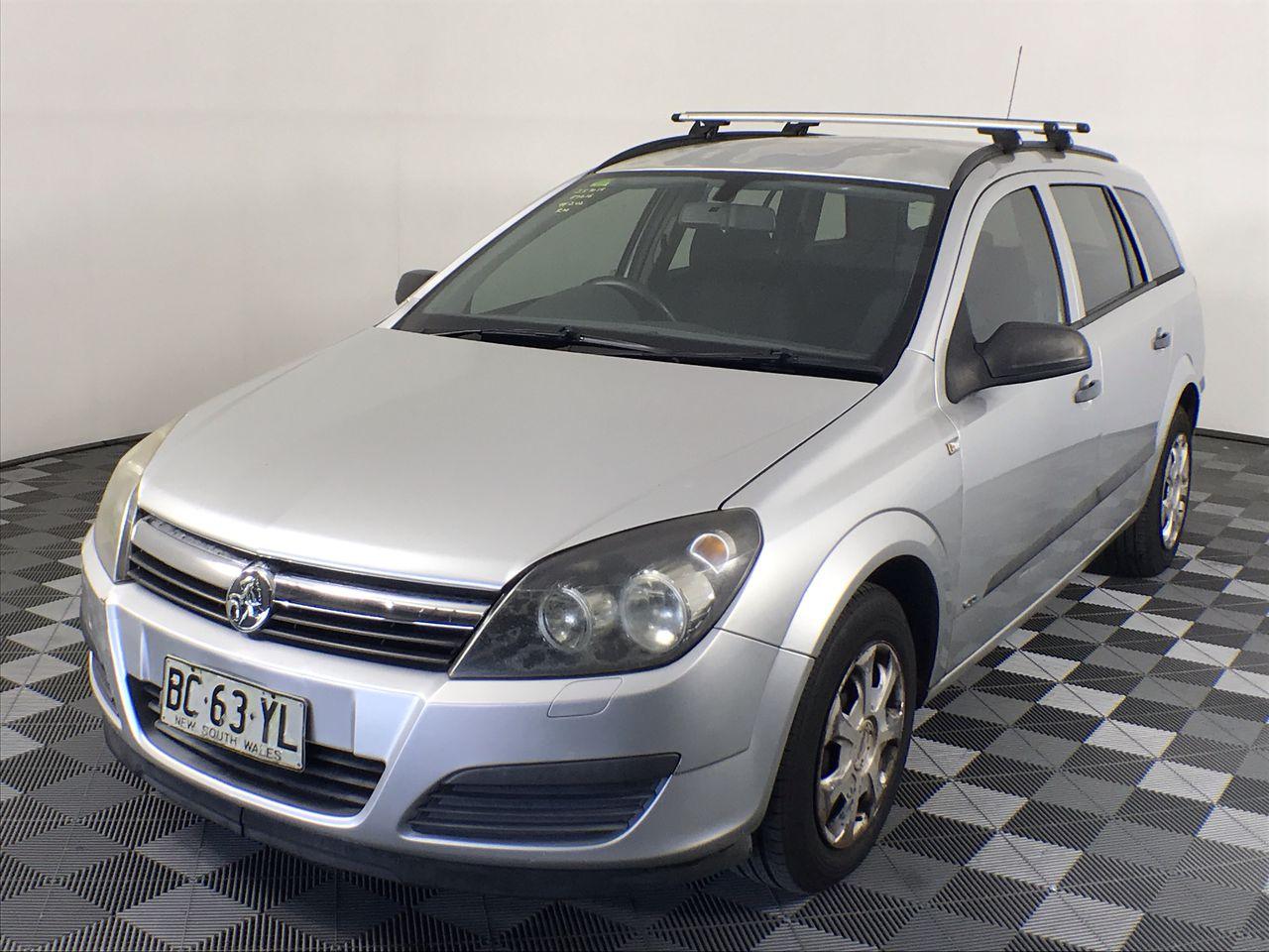 2006 Holden Astra CD AH Manual Wagon