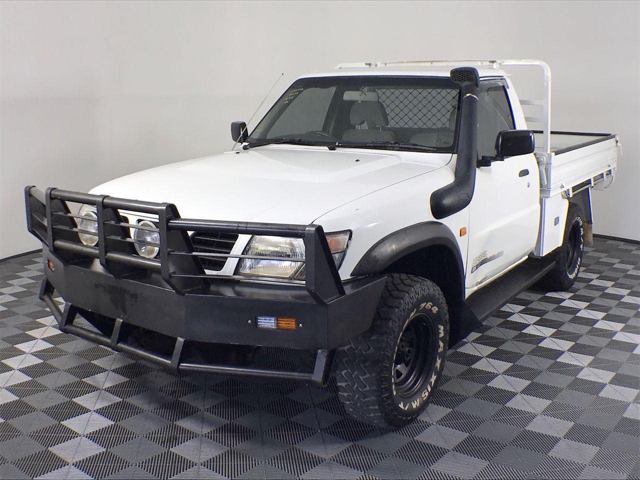 Nissan Patrol DX (4x4) GU Manual Cab Chassis