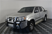 2005 Toyota Hilux SR5 (4x4) GGN25R Manual Dual Cab
