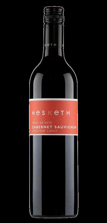 Hesketh `Twist of Fate` Cabernet Sauvignon 2017 (6 x 750mL), SA.