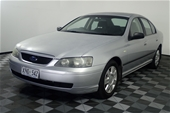 Unreserved 2004 Ford Falcon XT BA II Automatic Sedan