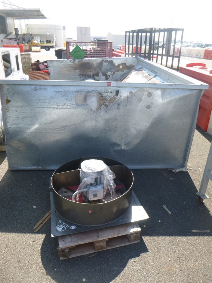 Spray Booth Extraction Unit