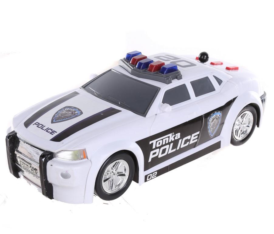 TONKA Police Car 40cm x 17cm w/ Sound. N.B Not in original box (SN:CC43621)