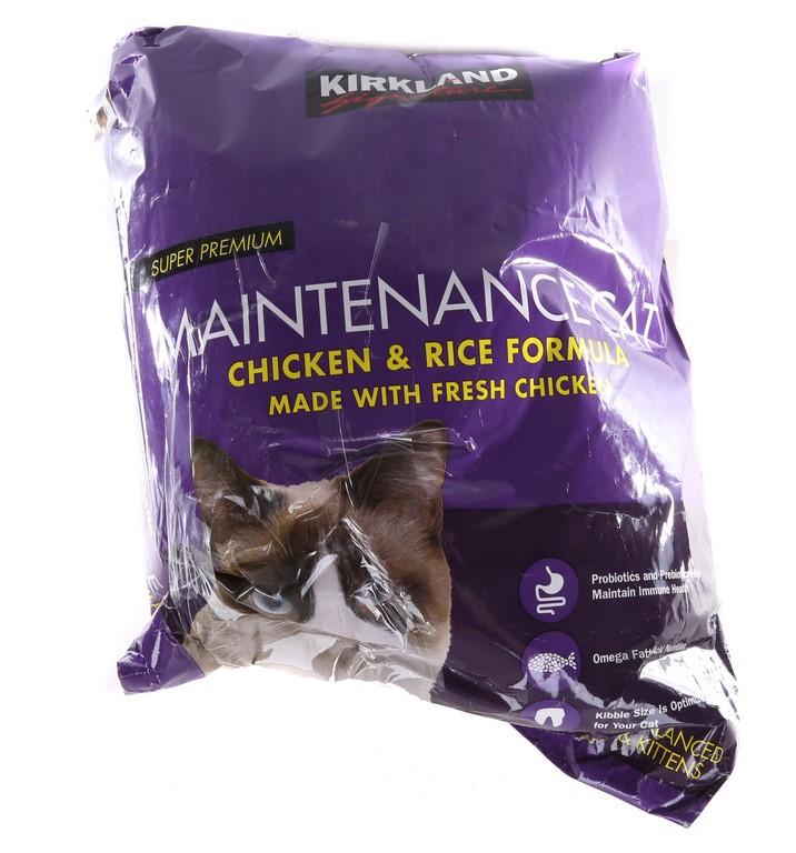 SIGNATURE Super Premium Maintenance Cat Chicken & Rice Formula. 11kg. N.B B