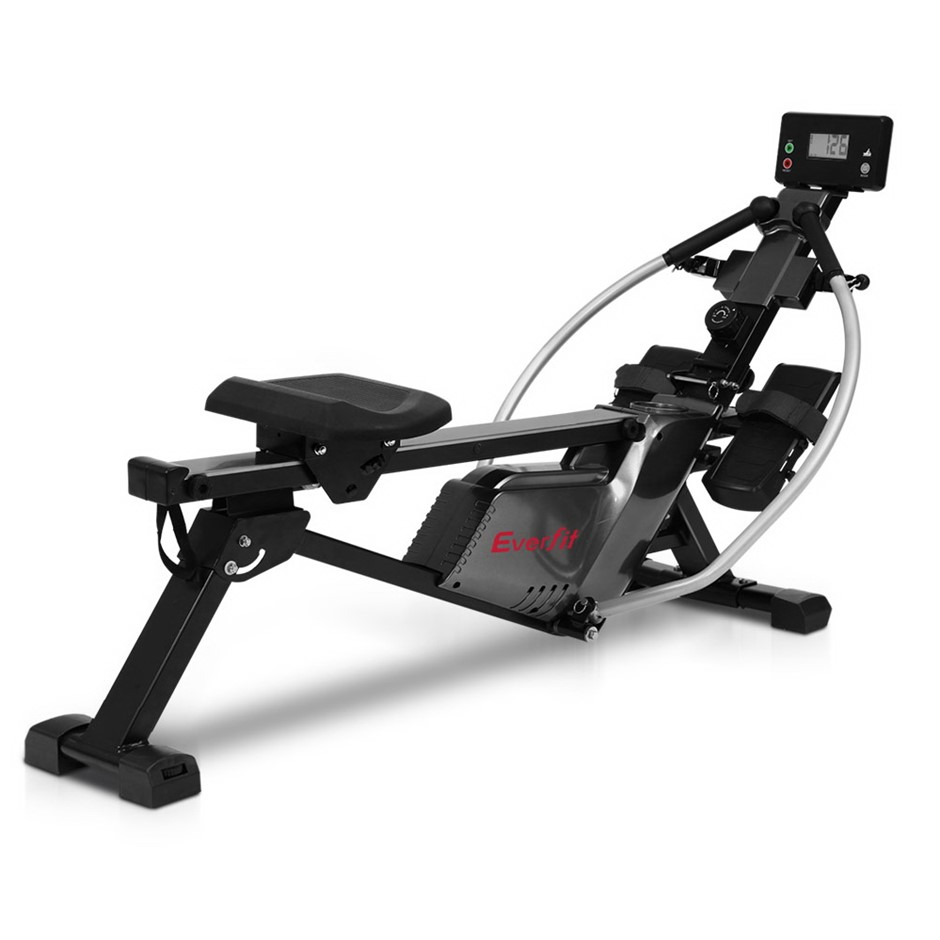 Everfit Magnetic Rowing Machine Rower Full Motion Arms Exercise Fitness