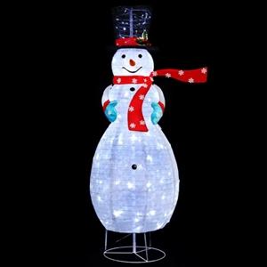 Christmas Motif Lights Foldable Snowman