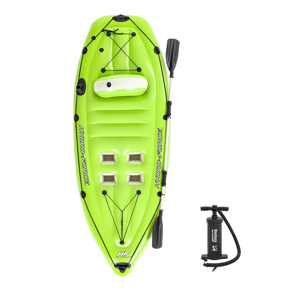 Bestway Inflatable Kayak Canoe Raft Koracle Fishing Boat 2.70m x 1.00m