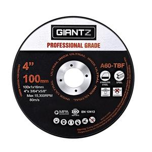 """Giantz 100 x 4"""" Cutting Disc 100mm Metal"""