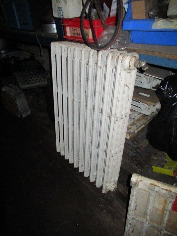 3 Cast Iron Original Victorian Hydronic Heating Panels