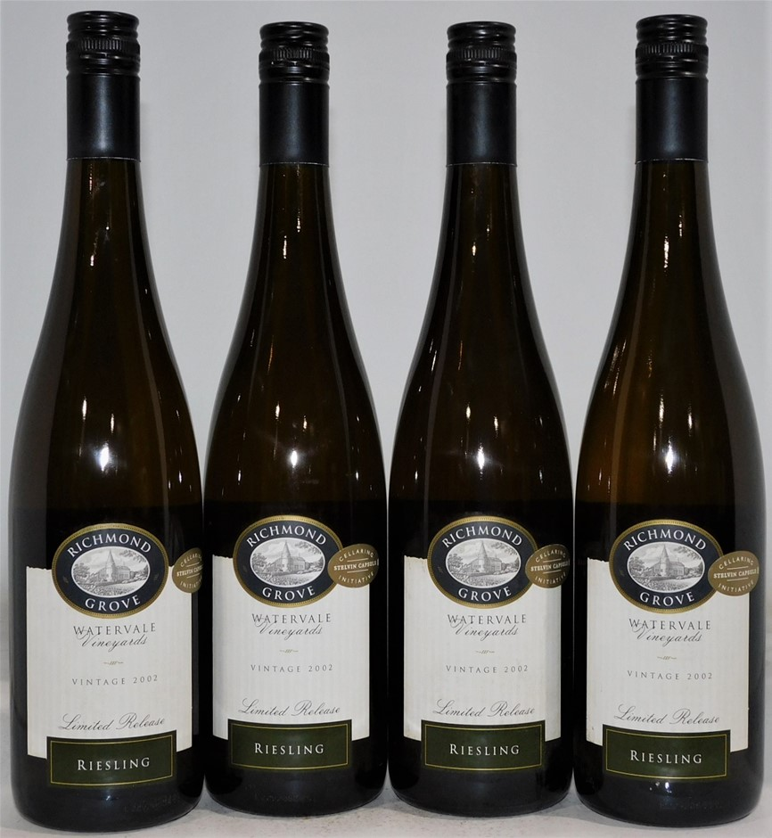 Richmond Grove 'Limited Release' Watervale Riesling 2002 (4x 750mL)