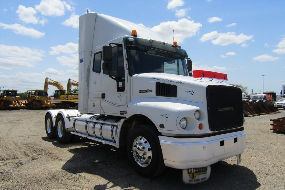 2005 Iveco Powerstar 6 x 4 Automatic Turbo Diesel Prime Mover Truck