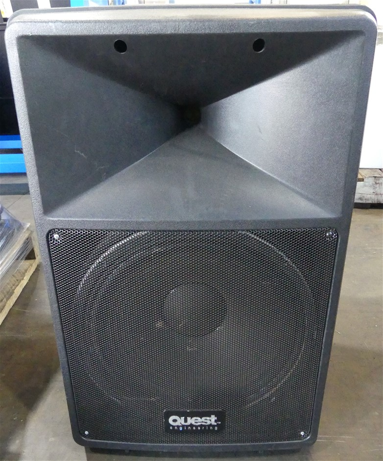 Quest QS 500 Two-way Passive Audio Speaker
