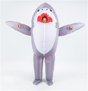 Shark Fancy Dress Fan Inflatable Costume