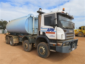 2006 Scania P380 8 x 6 Water Truck