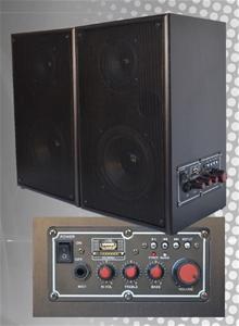 ABI 50W RMS 5' Speaker pair with Bluetoo