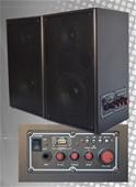 ABI Pro AV Speakers & Orator UHF 1 and 2-CH 100PLL Mic Kits