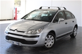 Unreserved 2005 Citroen C4 SX Manual Hatchback