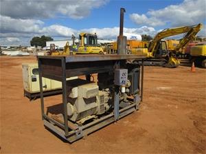 Diesel Powered Generator on Skip Mounted