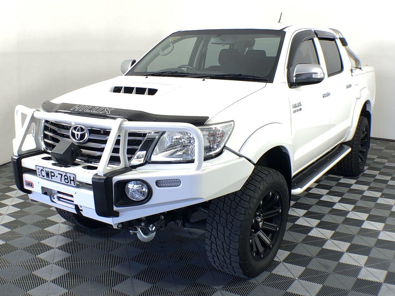 2014 Toyota Hilux SR5 (4x4) KUN26R Turbo Diesel Automatic Dual Cab