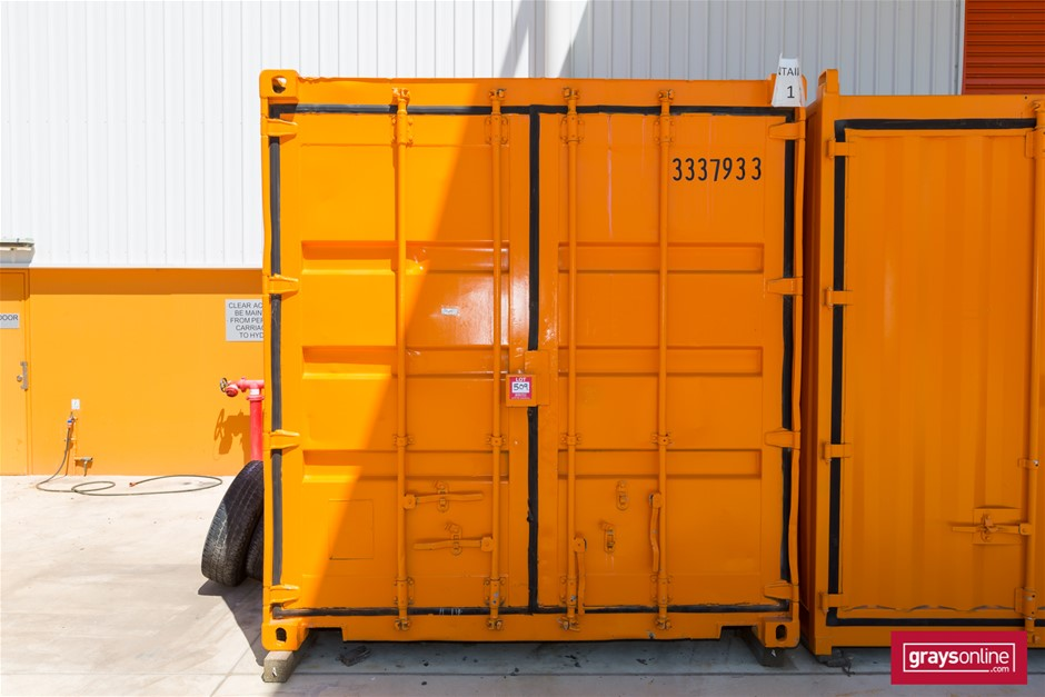 10ft x 8ft Steel Shipping Container