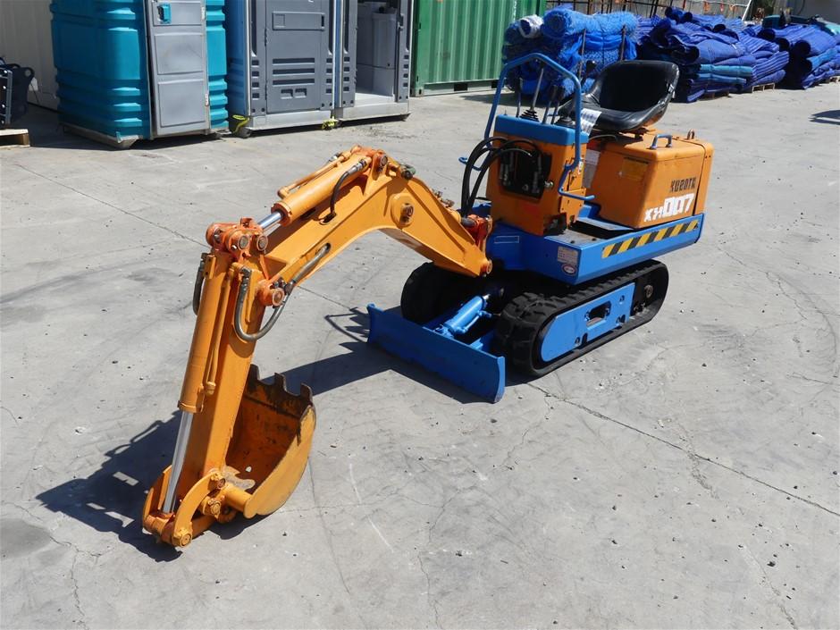 Kubota KH-007 Mini Excavator