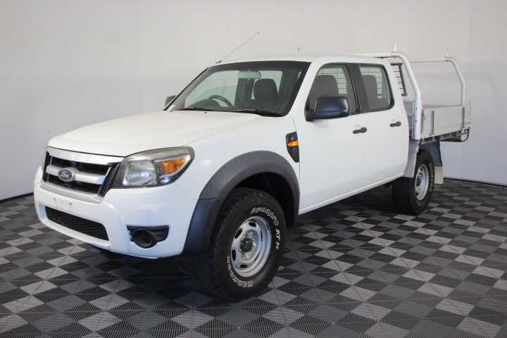 2011 Ford Ranger XL (4x4) PK Turbo Diesel Manual Crew Cab Chassis