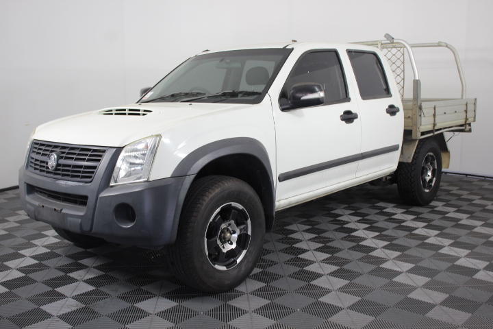 2007 MY08 Holden Rodeo 4WD 3.0T/Diesel 203,265 km's