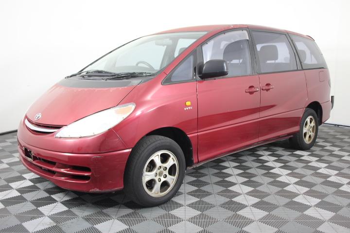 2001 Toyota Tarago GLI ACR30R Automatic 8 Seats People Mover