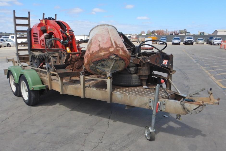 Kanga Maxi DT825 Mini Skid Steer With Trailer & Attachments (Pooraka, SA)