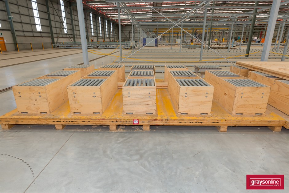 Purpose Built Roller Table - Suit Structural Wall Sections