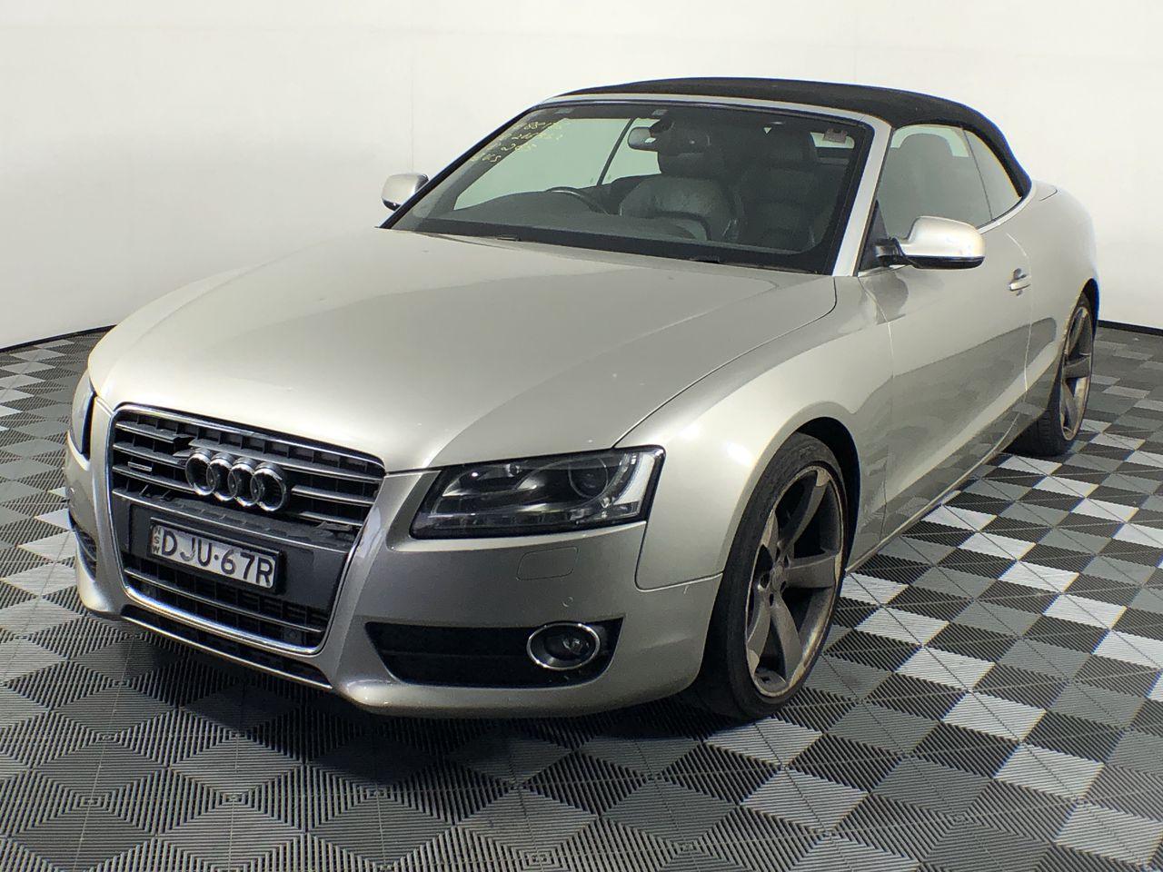 2010 Audi A5 2.0 TFSI Quattro 8T Automatic Convertible