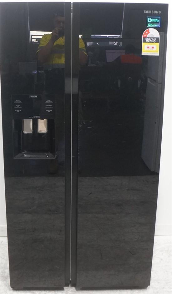 Samsung SRS589DBG 586L Ice & Water Side by Side Fridge Freezer