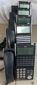 Qty 5 x NEC DT300 Series Telephones DTL-