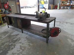 Work Bench Steel Frame