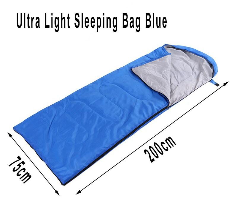 Sleeping Bag Lightweight Waterproof for camping, Blue