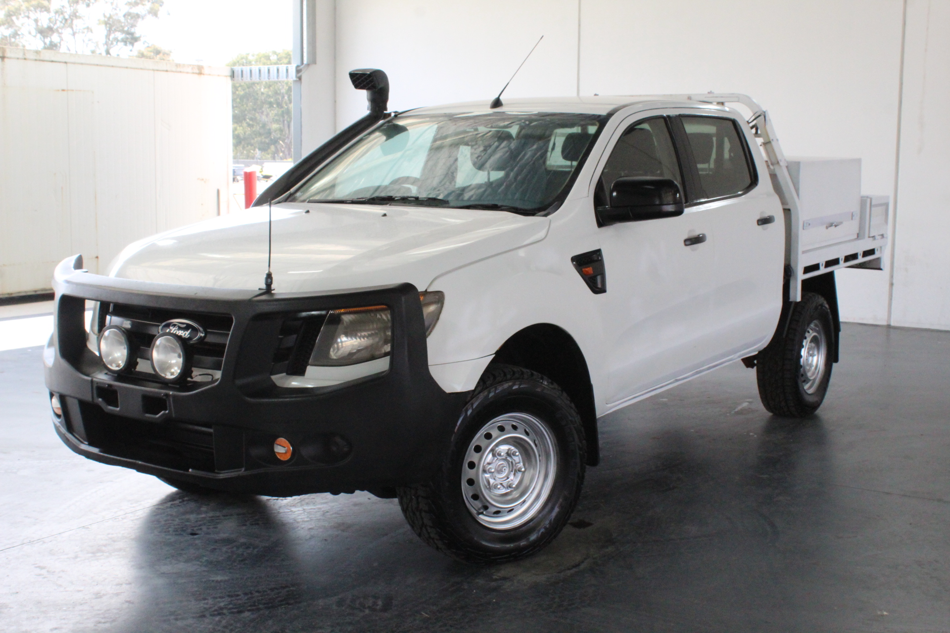 2012 Ford Ranger XL 4X4 PX Turbo Diesel Automatic Crew Cab Chassis