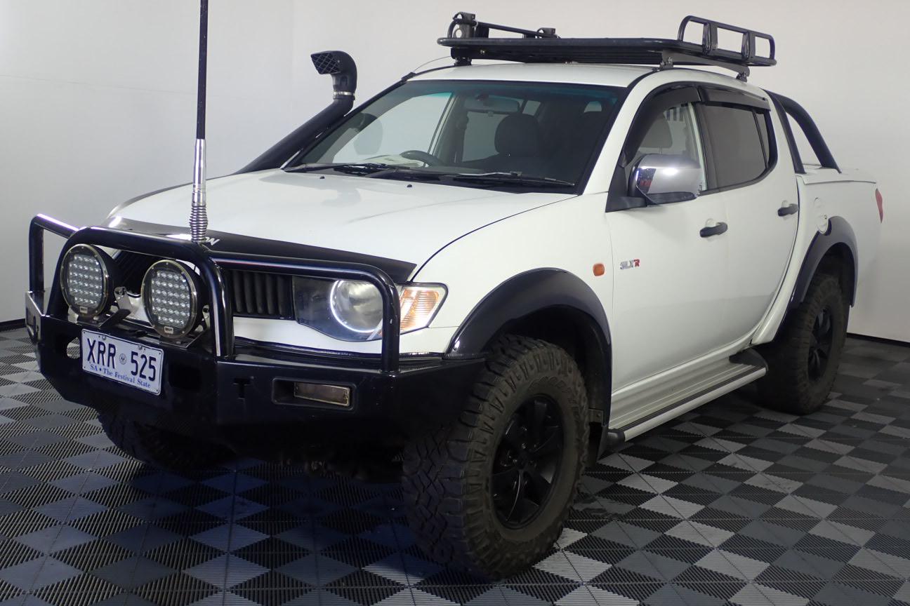 2008 Mitsubishi Triton GLX-R (4x4) ML Turbo Diesel Automatic Dual Cab