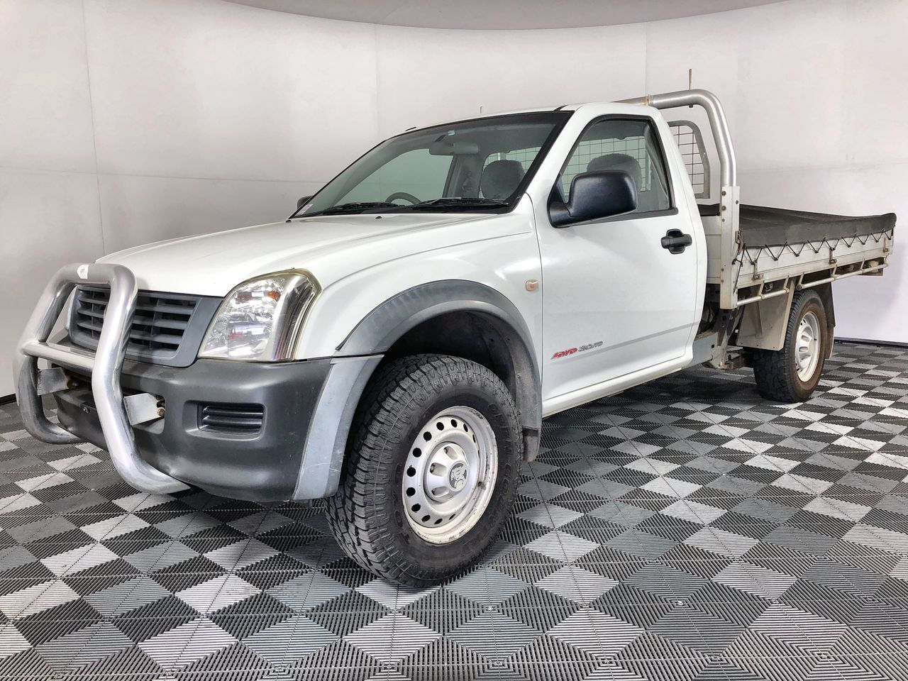 2004 Holden Rodeo DX (4x4) RA Turbo Diesel Cab Chassis