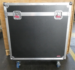 New Large Black Road Case On Wheels