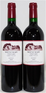 Mount Mary 'Quintet' Red Blend 2005 (2x