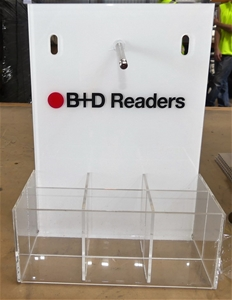 Small Acrylic Display - Holds 7 units