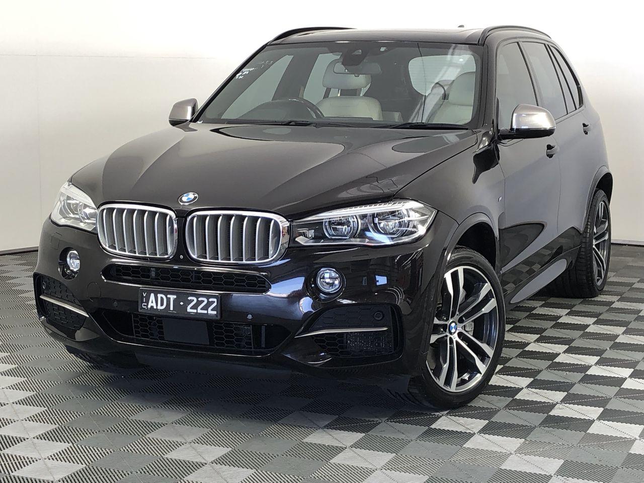 2015 BMW X5 M50d F15 Turbo Diesel Automatic - 8 Speed 7 Seats Wagon
